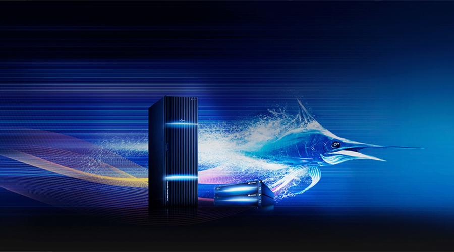 Der schnellste Intelligente reine Flash-Speicher der Welt
